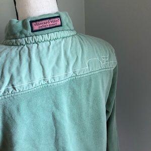 Vineyard Vines Shep Shirt Overdyed Seafoam Green